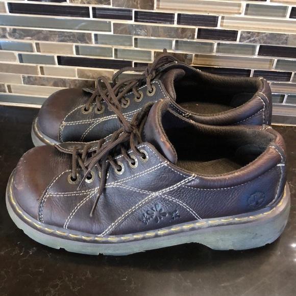 Dr. Martens Shoes - Dr martens floral 6-eye platform lace up shoes